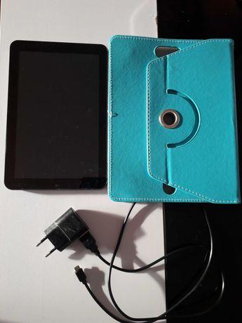 Tablet + capa azul
