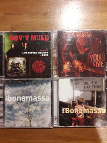 Joe Bonamassa Gov't Mule 5 Cd Blues Rock set You and me, Dose Govt