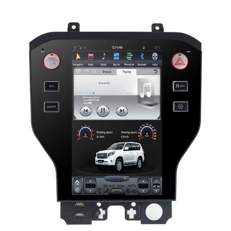 Radio nawigacja TESLA ANDROID Ford Mustang 6 gen 2014-18 WiFi BT USB