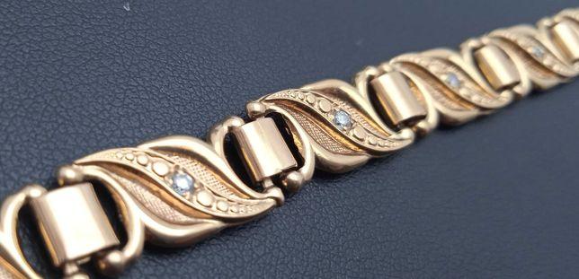 Złota bransoletka 13,08g 18cm P585 LOMBARD66