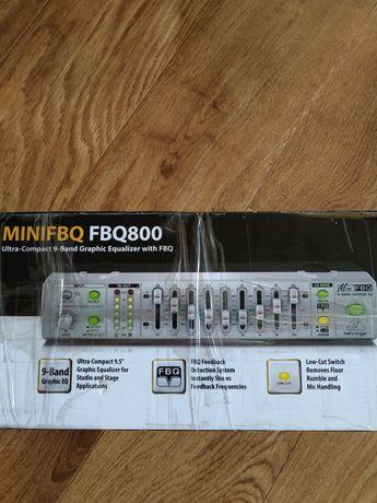 Эквалайзер Behringer mini fbq800