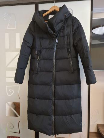 Тёплое пальто Clasna р.L подойдёт на s-m