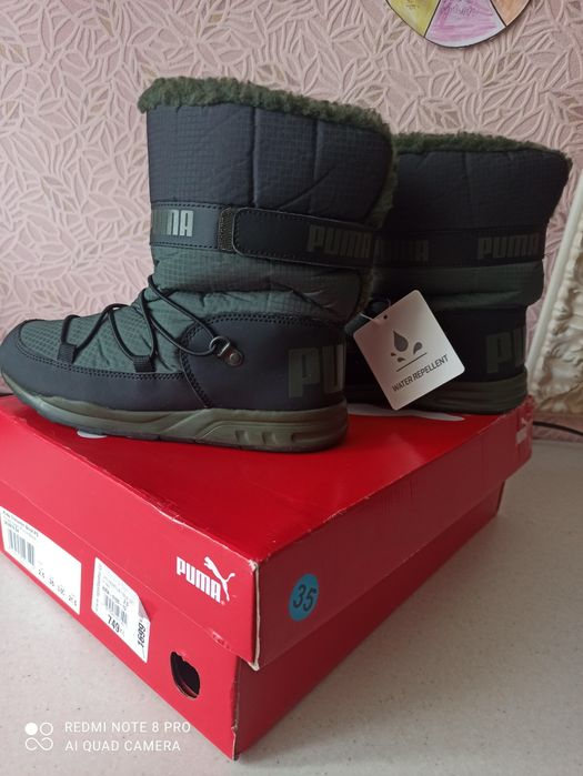 Зимові черевики Puma ( зимние ботинки Puma) Луцк - изображение 1