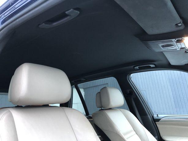 Черный потолок BMW X5 E70 без люка чорний БМВ Х5 E70 Разборка