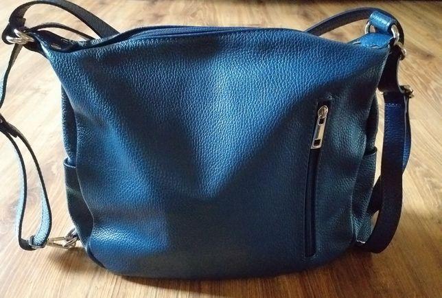 Nowa torebka plecaczek Made in Italy