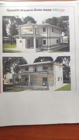 Проект 2-х этажного дома (200 м2)