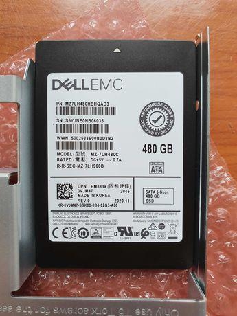 Dysk DELL SSD serwerowy 480GB SATA RAMKA