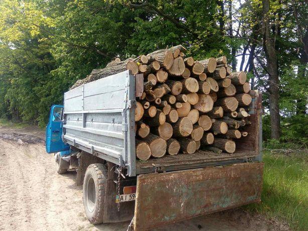 Продам дрова дуб з доставкою