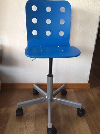 Krzesło dzieciece ikea niebieskie