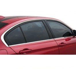BMW Série 3 F30 Sedan – Kit frisos contorno das janelas cromados- Novo