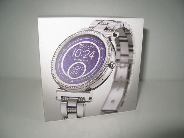 MICHAEL KORS srebrny zegarek damski MKT5036