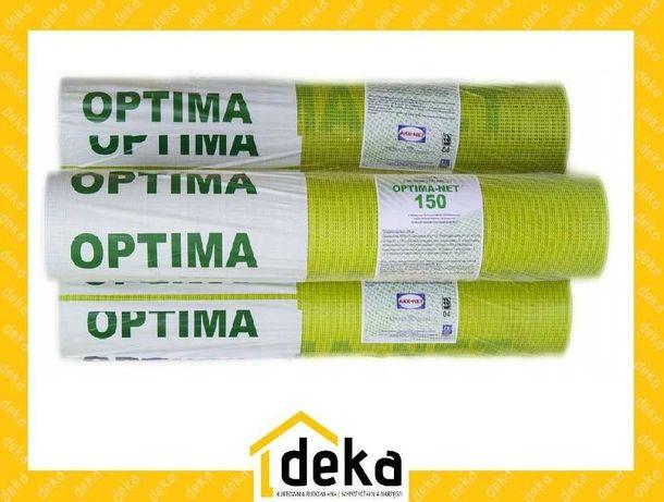 Siatka Elewacyjna Podtynkowa AKE OPTIMA 55m2 150g/m2 żółta Styropian