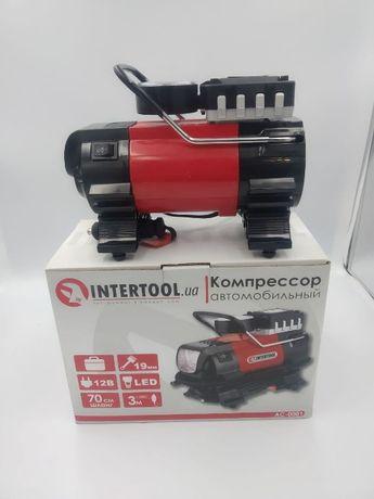 Компрессор автомобильный 12В 19 мм INTERTOOL AC-0001