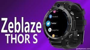 Zeblaze THOR S 3G Smartwatch Phone - Preto