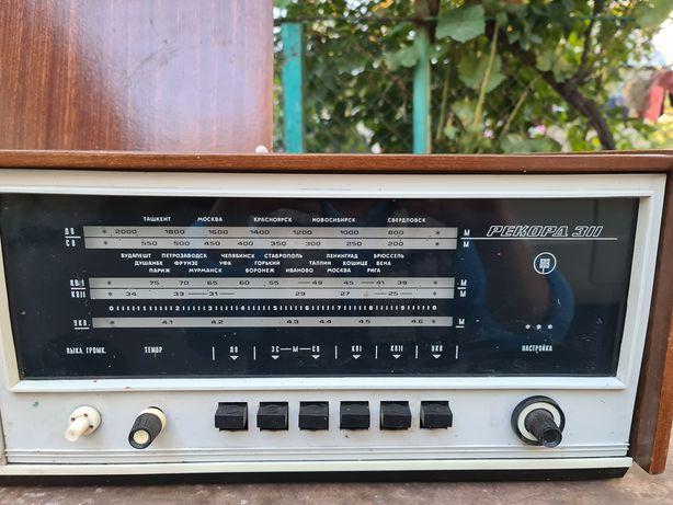 Радиола  Рекорд 311 ссср