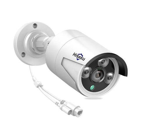 Câmara de vigilância Hiseeu para CCTV exterior H.265 2MP 1080p RJ45