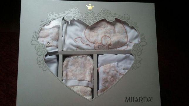 Набор для новорождённой на выписку, крестины, производство Турция