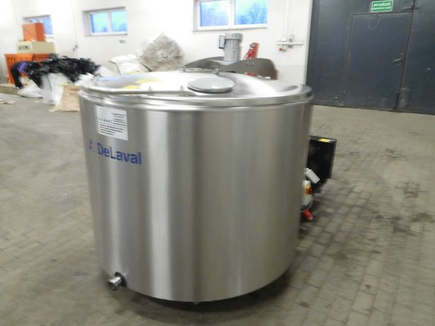 Schładzalnik zbiornik chłodnia do mleka Alfa Laval, 400L 600L 800L