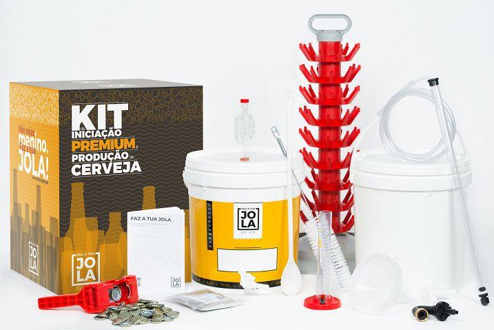 Kit de Iniciação Premium - Produção de Cerveja Artesanal