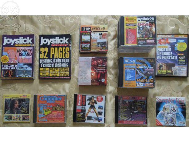 Cds de Revistas & Livros de Soluções para Jogos