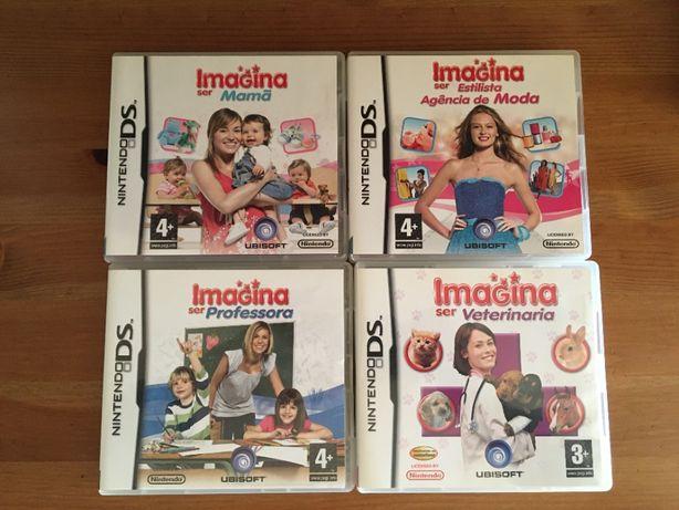 """Coleção """"Imagina Ser..."""" - Jogos para Nintendo DS"""