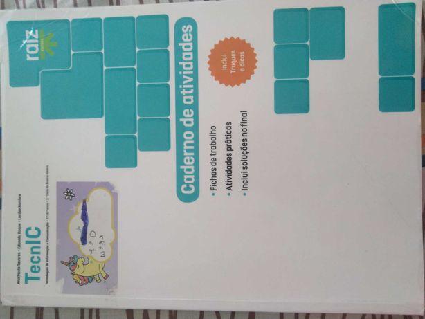 Caderno de fichas de TecnIC 7º/8º anos ISBN - 9789897441446