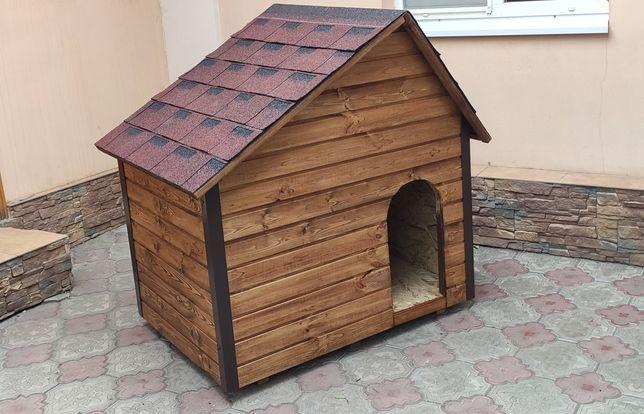 Утепленная будка для крупных и средних пород собак