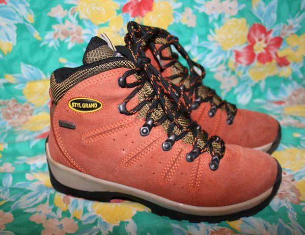 Ботинки из кожи Styl Grand Expedition Outdoor размер 37 р