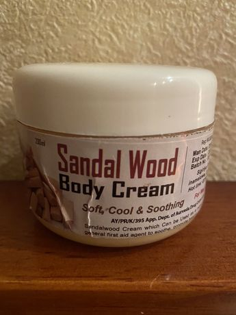 Крем для тела на основе сандалового масла