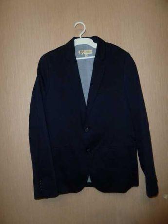 BHS Классический пиджак на 12-13 лет, школьный пиджак, синий