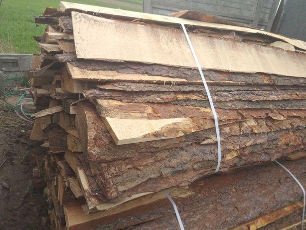 zrzyny sosnowe dębowe cięte drewno drzewo możliwość pocięcia