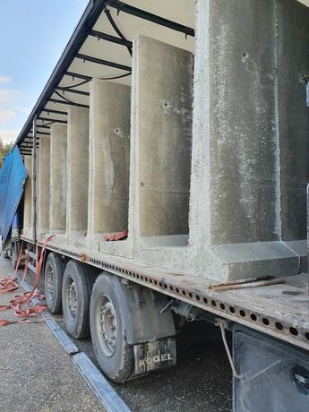 Mury oporowe , elki betonowe