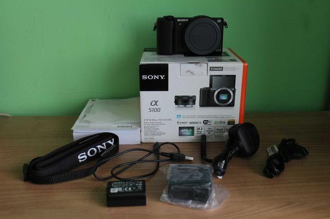Sony a5100 jak nowy + akcesoria