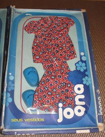 Antigos conjuntos roupa e acessórios p/ bonecas Tucha Barbie Chabel ..