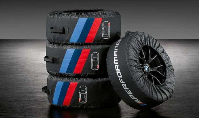 Oryginalne Pokrowce na koła BMW M Performance F-VAT NOWOŚĆ