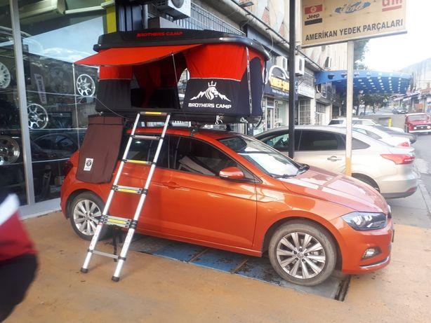 Автомобильная палатка на крышу кемпинг кемп машину автопалатка Thule