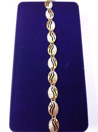 Złota bransoletka pr. 585