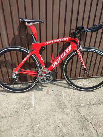Rower czasowy triathlonowy szosowy SPECIALIZED TRANSITON sram Red