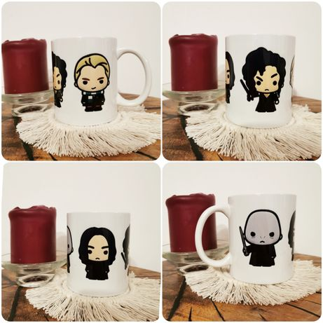 Kubek 4w1 Snape, Bellatrix, Draco, Voldemort - Harry Potter