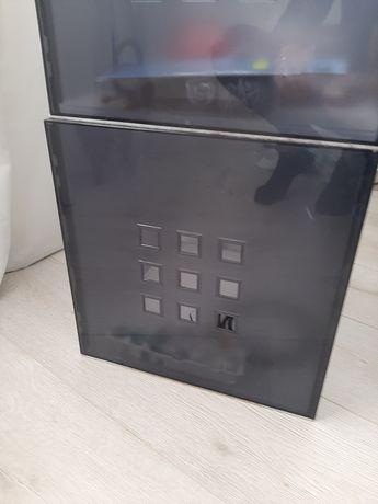 5 Cubos ikea plástico cinza escuro