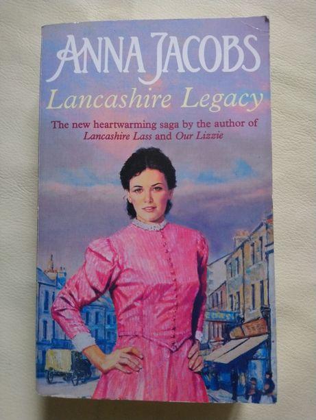 Книга Anna Jacobs Lancashire Legacy