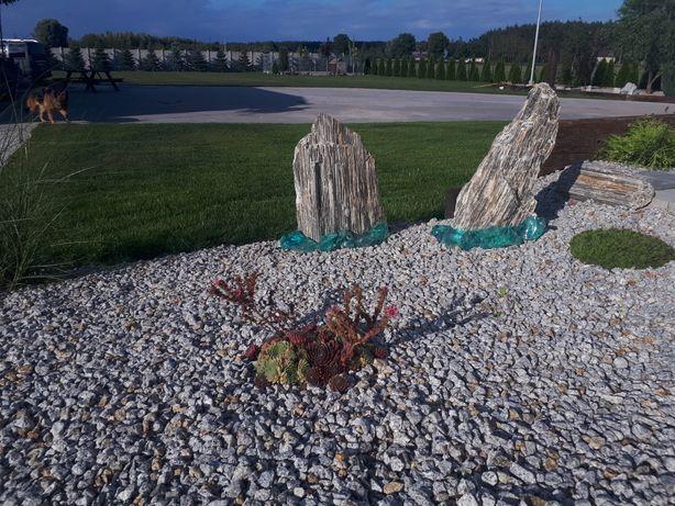Kamień ozdobny OGRODOWY frakcja 8-16, 16-22, 22-32, 32-64 transport