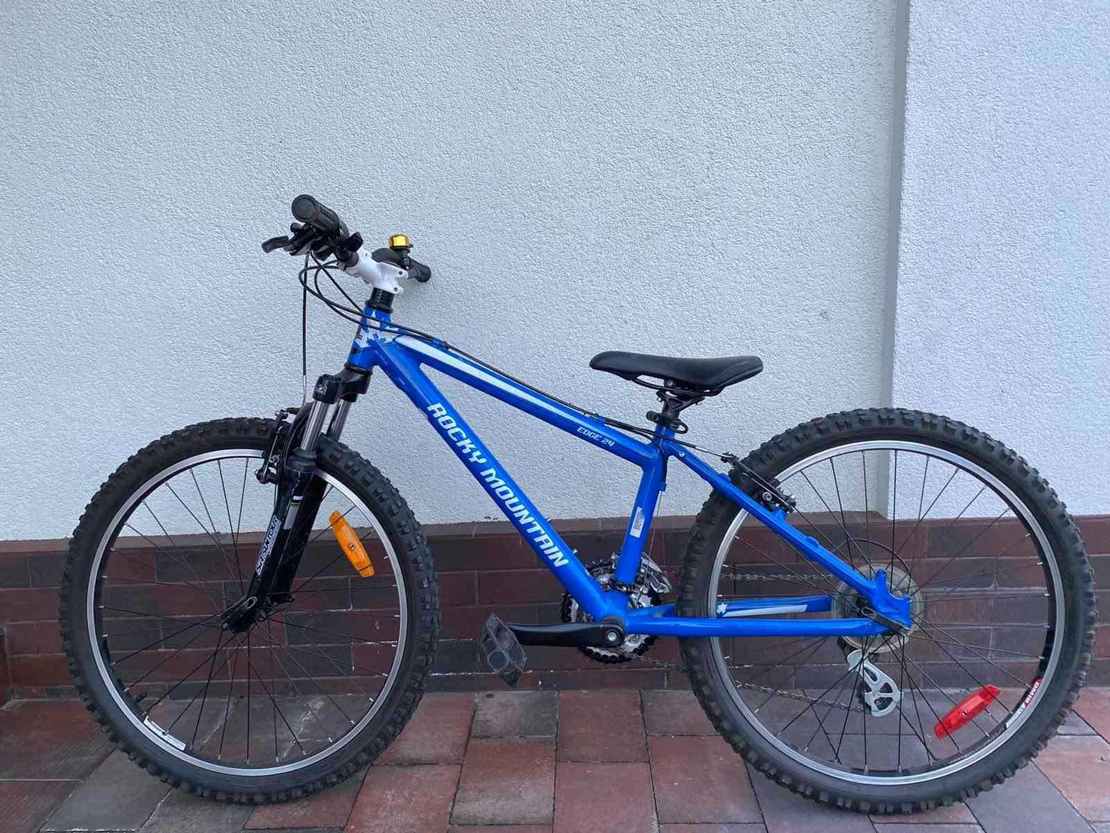 """Велосипед горный подростковый Rocky Mountain Edge 24""""  для 130 - 145см"""