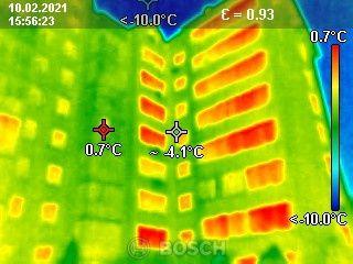 Тепловізійне обстеження тепловізор конденсат поиск утечек теплоудит