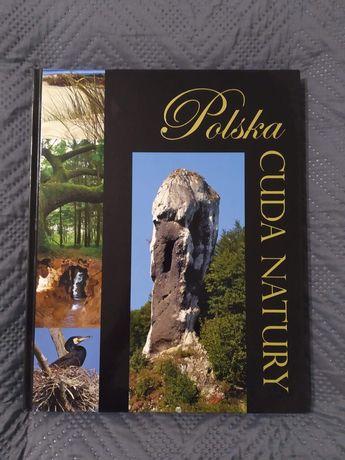 Książka album Polska cuda natury
