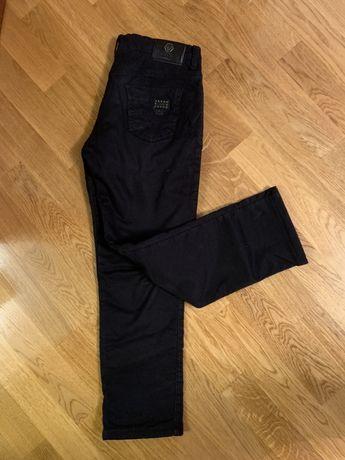 Штани брюки джинсы утепленные Philipp Plein  Идеал ! Черные зима
