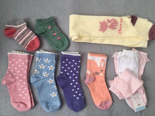 Шкарпетки носочки носки Next i Primark, колготки, 2-3 р., нові!