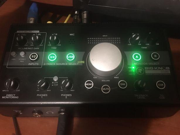 Аудиоинтерфейс мониторный контроллер - Mackie Big Knob Studio Обмен
