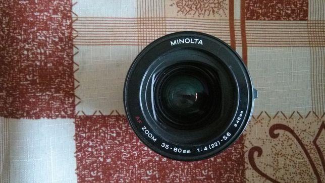Obiektyw Minolta AF 35-80 4-5.6