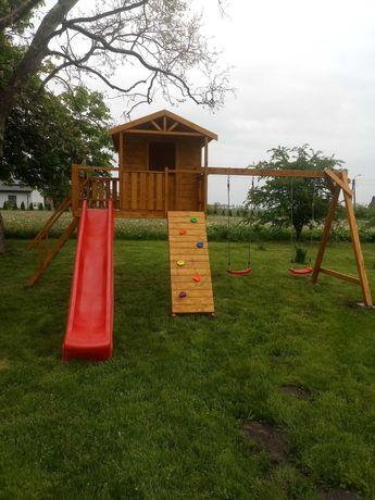 domek dla dzieci plac zabaw
